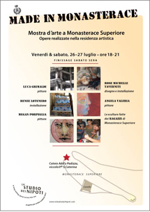 click to see gallery exhibit in Monasterace