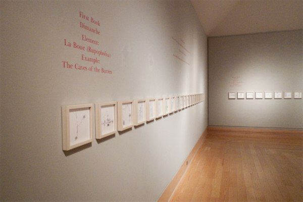 "Installation view of ""Theory of the Meat Machine"" at the Kohler Gallery at Lawrence University in Appleon, WI"